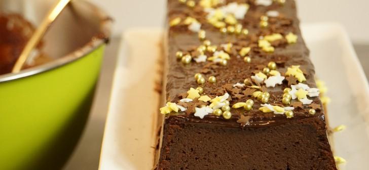 Recette de la b che de noel rapide et facile au chocolat - Herve cuisine buche marron ...