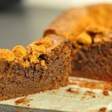 Cake chocolat speculoos hervecuisine