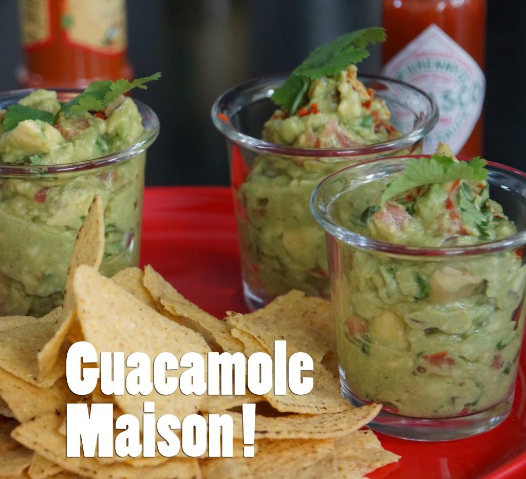 guacamole recette facile