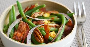 haricots bacon recette cuisine