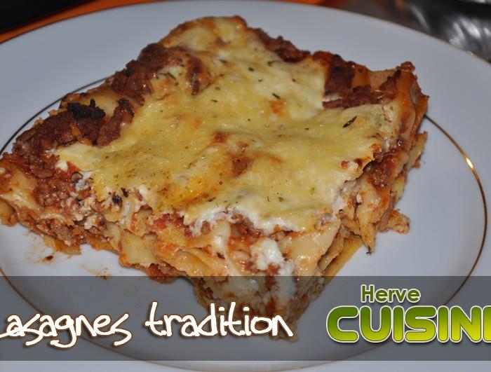 lasagnes 224 la bolognaise maison fa 231 on herv 233 hervecuisine
