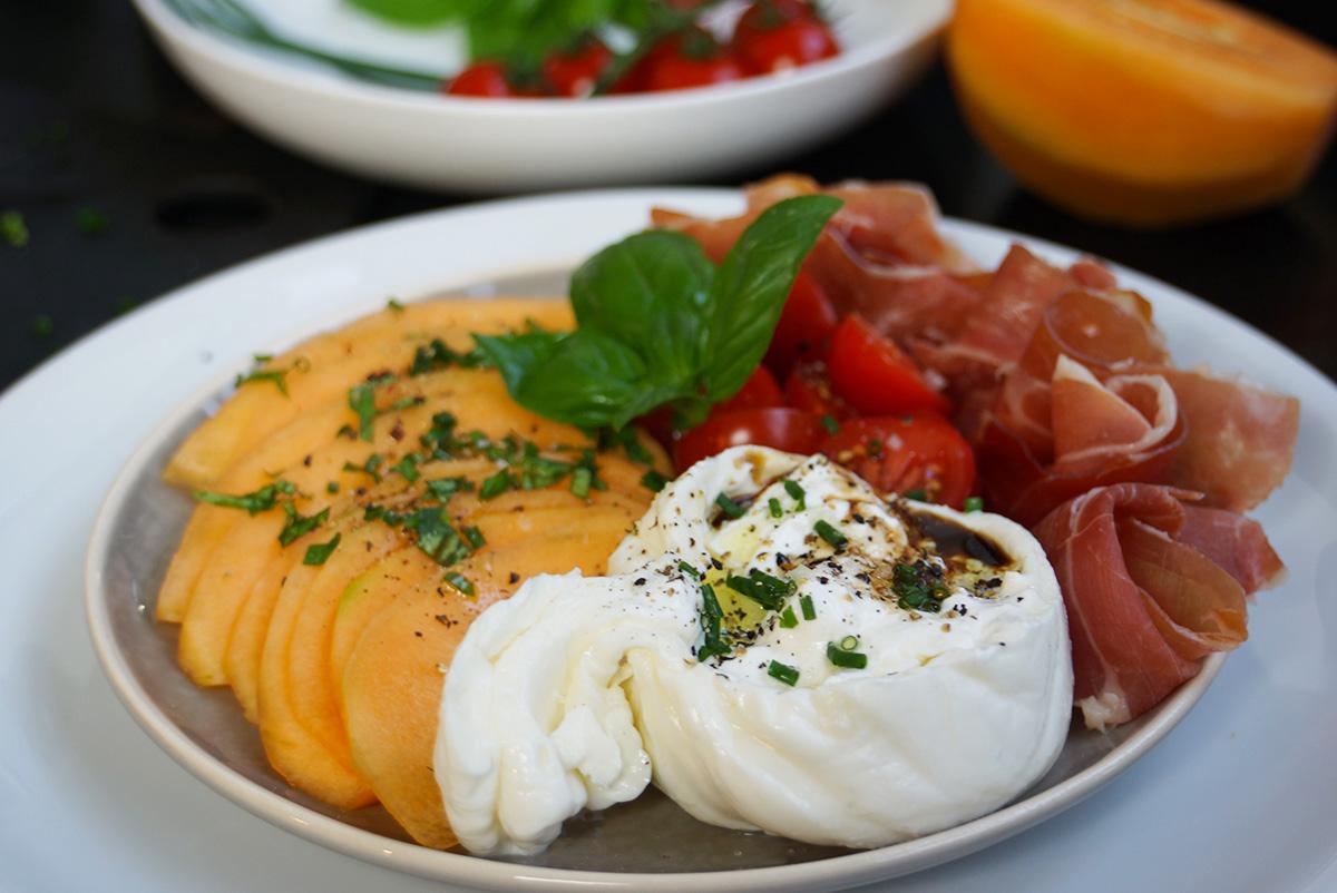 Recette entr e melon jambon facile et savoureuse for Cuisine entree facile