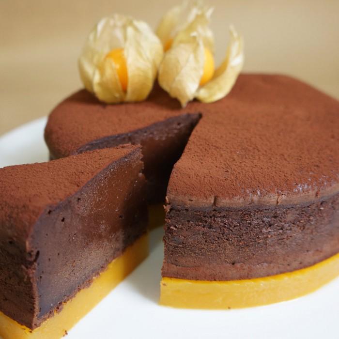recette du moelleux chocolat passion mangue