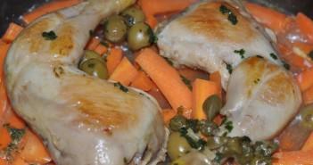 poulet carottes cumin