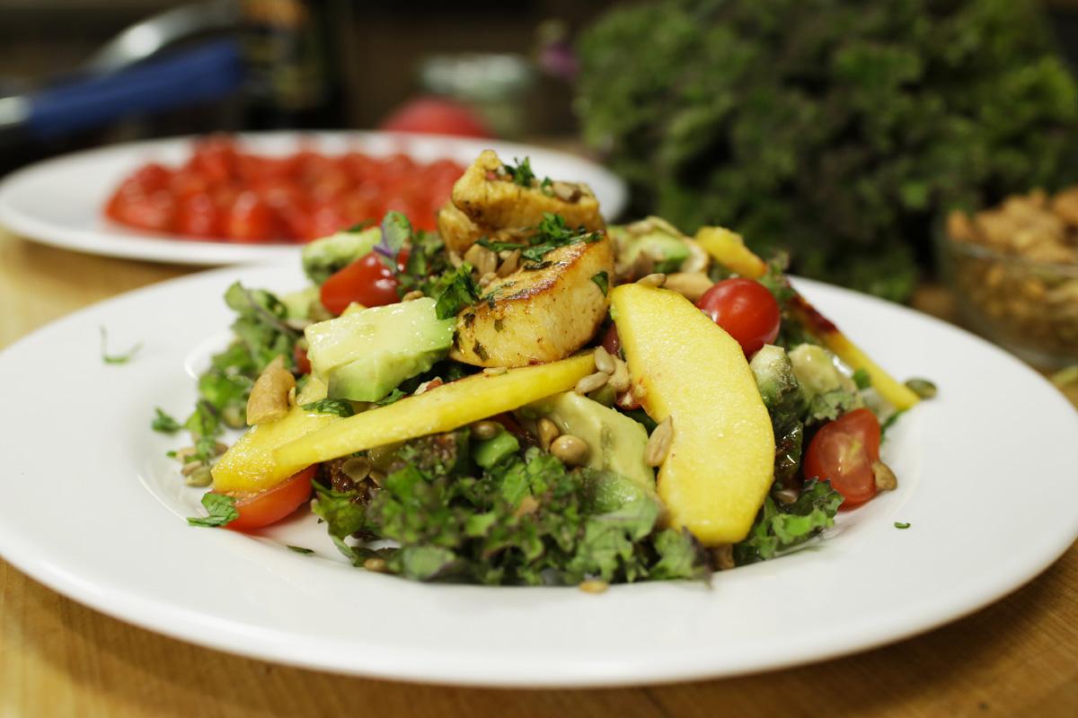 Salade poulet mangue l gumes et salades pinterest - Les cuisines de garance ...