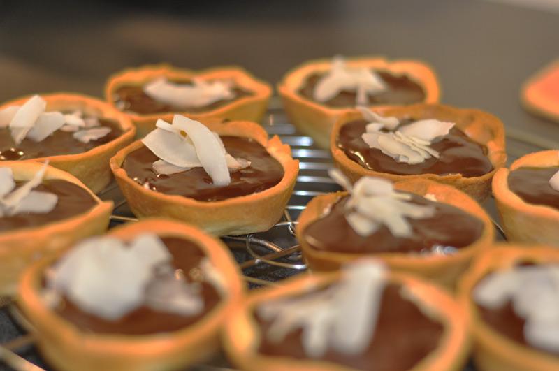 tartelettes bounty chocolat coco