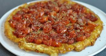 tarte tatin tomate cerise hervecuisine
