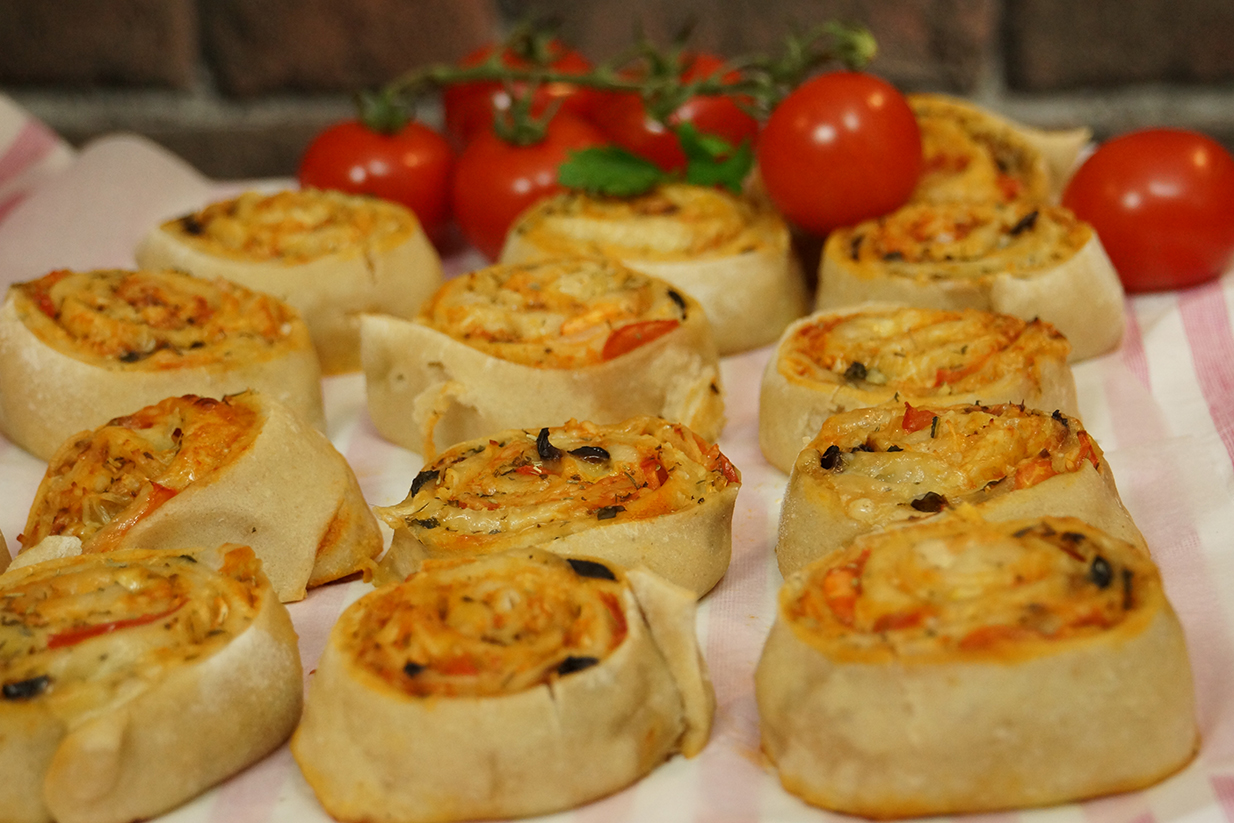 recette facile de pizza rolls ap 233 ritif