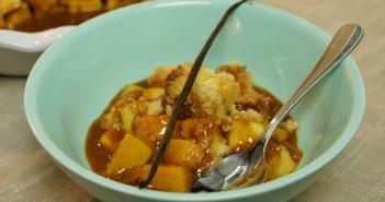 crumble aux pommes herve cuisine